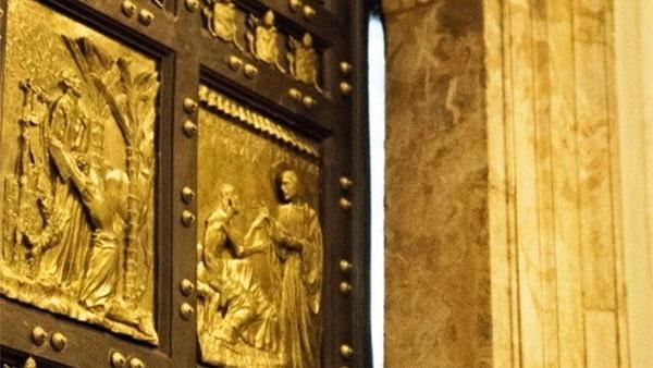 Porta Santa na Basílica de São Pedro / Foto: L'Osservatore Romano