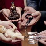 Líderes do catolicismo, budismo, islamismo e judaísmo juntos no vídeo do Papa sobre diálogo inter-religioso / Foto: Reprodução do Vaticano