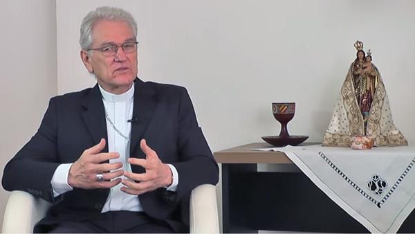 """Dom Leonardo Steiner durante entrevista ao programa """"Igreja no Brasil"""" / Foto: Reprodução Youtube"""