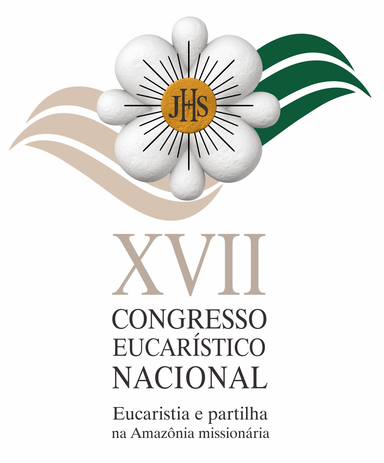 Logotipo do Congresso Eucarístico Nacional 2016 / Foto: Divulgação site oficial