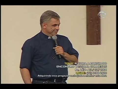 Pregações do Padre Léo ainda são exibidas pela TV Canção Nova e tocam muitas pessoas / Foto: Reprodução TVCN