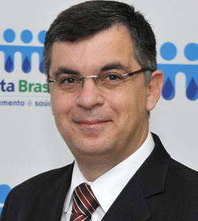 Édison Carlos, presidente executivo do Instituto Trata Brasil / Foto: Instituto Trata Brasil
