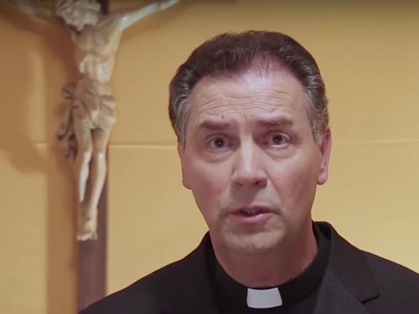 Reitor-mor dos Salesianos, padre Ángel Fernández Artime