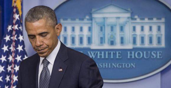 O presidente norte-americano, Barack Obama, em visita à Alemanha e elogiou a postura do país na gestão da crise dos refugiados/Foto: Arquivo  Agência Brasil