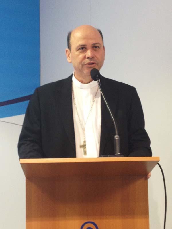 O Bispo auxiliar da Dom Sérgio de Deus Borges, bispo auxiliar de São Paulo (SP) / Foto: André Cunha
