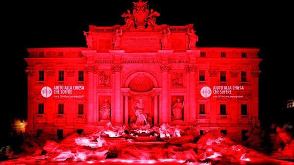 Fontana di Trevi, famosa fonte no centro de Roma / Foto: Rádio Vaticano