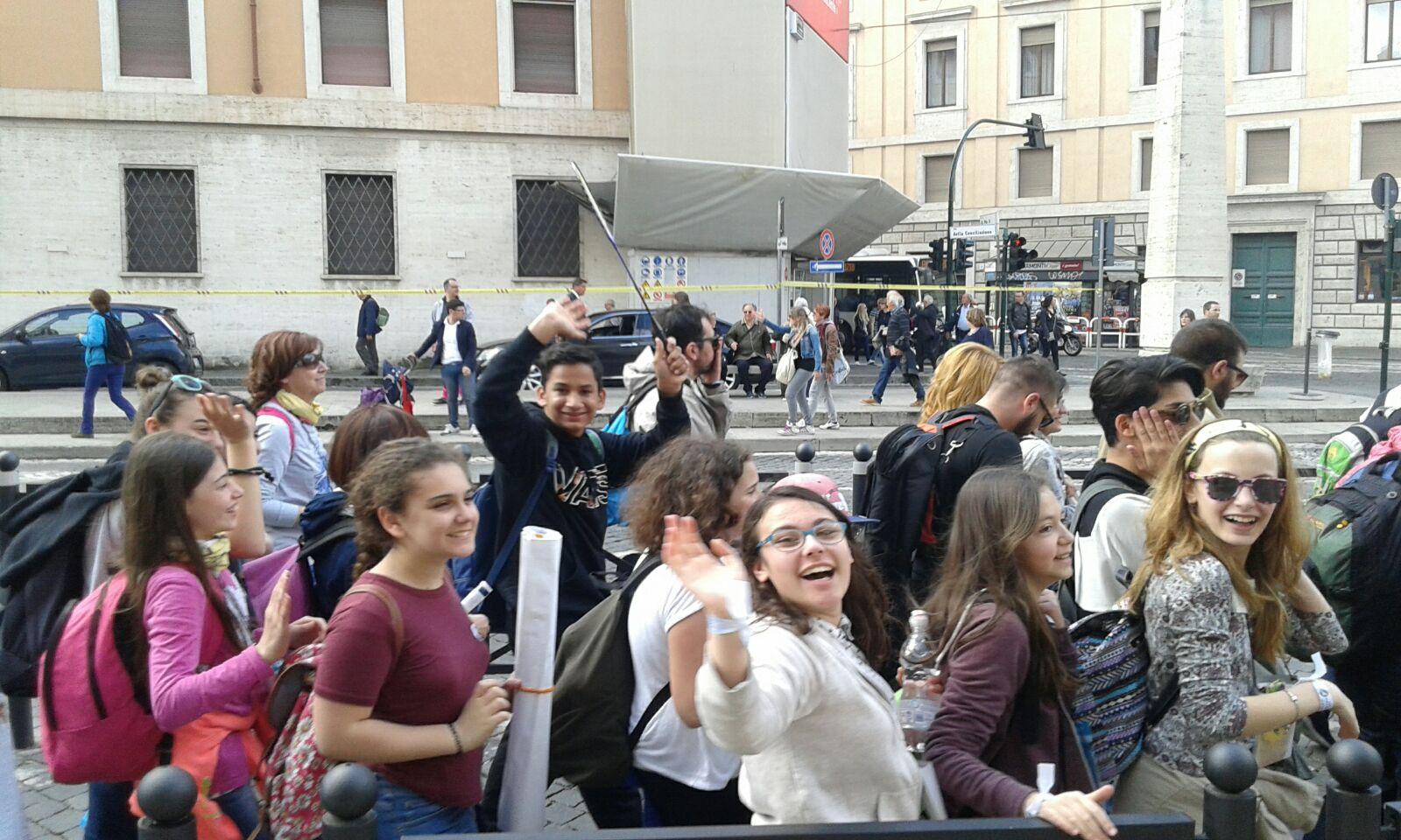 Jubileu recebe adolescentes de todo o mundo no Vaticano / Foto: Danusa Rego