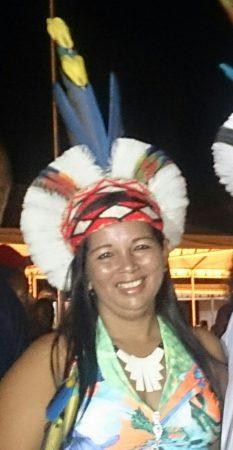 Luzia Pataxó, filha do Pajé