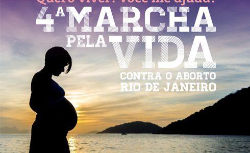 """""""Queremos construir um Brasil sem violência, sem aborto. """", afirma Maria José da Silva, coordenadora estadual do Movimento Brasil sem Aborto, organizadora da Marcha. / Foto: Divulgação do Evento -  Aci Digital"""