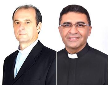 Padre Edgar (esq) e padre Helio / Foto: CNBB