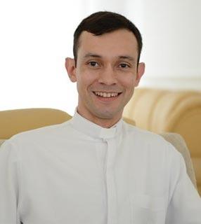 Padre Márcio Prado, reitor do Santuário do Pai das Misericórdias / Foto: Daniel Mafra