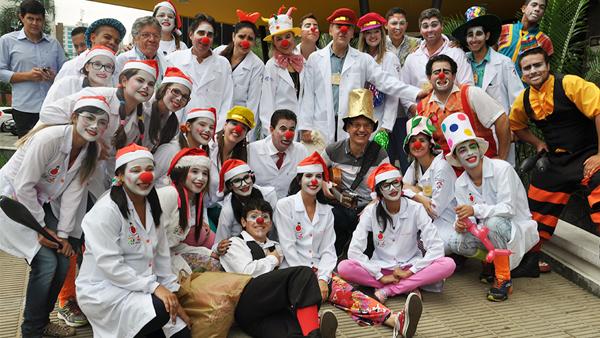 Semeadores da Alegria no HGG/ Foto: SES-GO