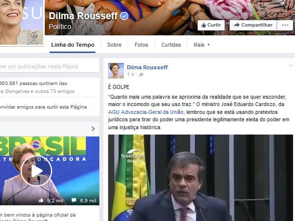dilma facebook