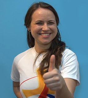 Marzena Wójcicka, coordenadora internacional do voluntariado da JMJ 2016 / Foto: Arquivo Pessoal