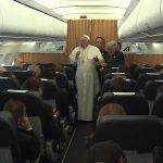 Na volta a Roma após Armênia, Papa fala aos jornalistas; veja temas