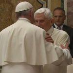 papa e bento XVI