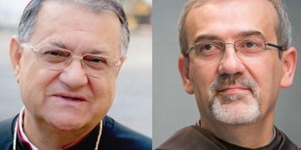 Patriarca Fouad Twal deixa patriarcado de Jerusalém e Frei Pizzaballa assume temporariamente como administrador apostólico / Foto: Montagem Custódia