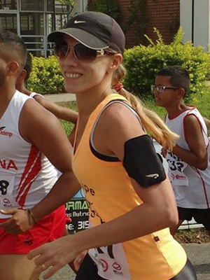 Danielle Sá será uma das participantes da Corrida da Padroeira./ Foto: Arquivo Pessoal.