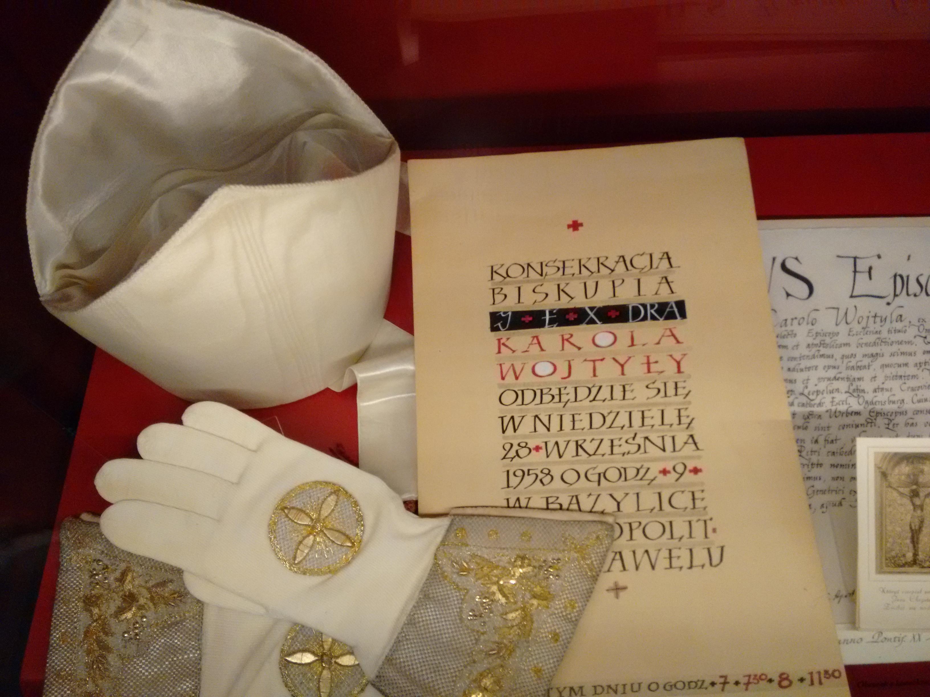Quem visita Wadowice pode ver de perto alguns objetos pessoais de São João Paulo II / Foto: Canção Nova