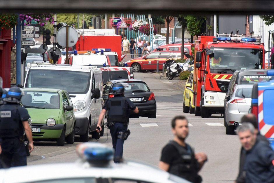 Agressores foram mortos pela Polícia / Foto: Steve Bonet - Reuters