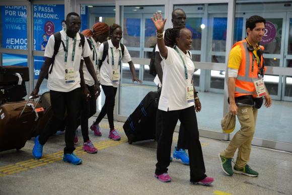 atletas refugiados