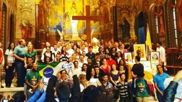 Jovens da Arquidiocese de Belo Horizonte que vão para JMJ / Foto: Arquidiocese de BH