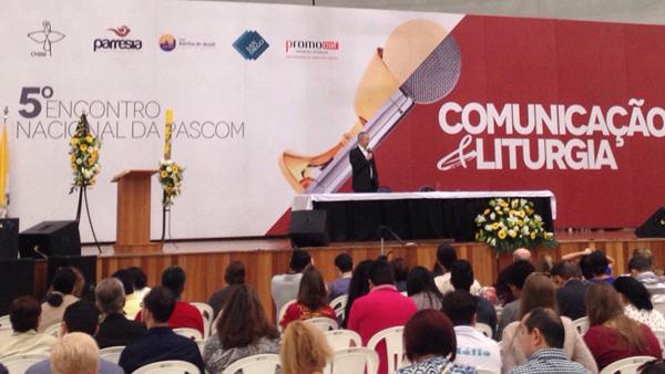 Encontro nacional de Pascom em Aparecida (SP) discute comuicação e liturgia / Foto: André Cunha - CN