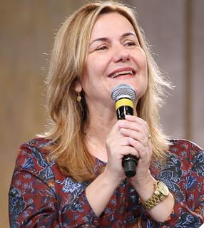 Katia Roldi Zavaris, Presidente do Conselho Nacional da Renovação Carismática do Brasil / Foto: Canção Nova