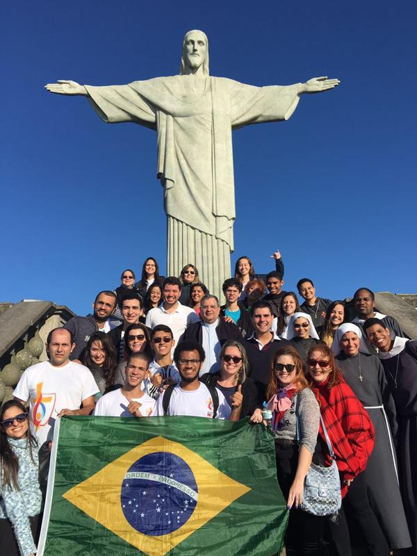 Jovens da Arquidiocese do Rio de Janeiro que vão para JMJ / Foto: Arquivo pessoal