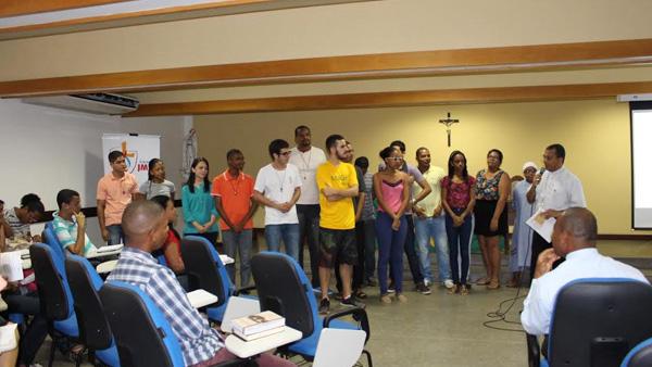 Jovens da Arquidiocese de Salvador que vão para JMJ / Foto: Arquivo pessoal