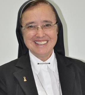 Irmã Maria Inês Vieira Ribeiro, presidente da Conferência dos Religiosos do Brasil (CRB)./ Foto: Arquivo Pessoal.