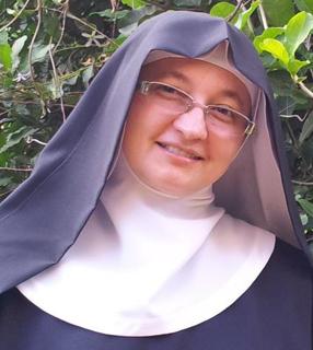 Irmã Mectildes de Jesus é monja beneditina há quase 25 anos./ Foto: Arquivo Pessoal.