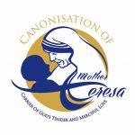 Logotipo oficial da canonização de Madre Teresa de Calcutá