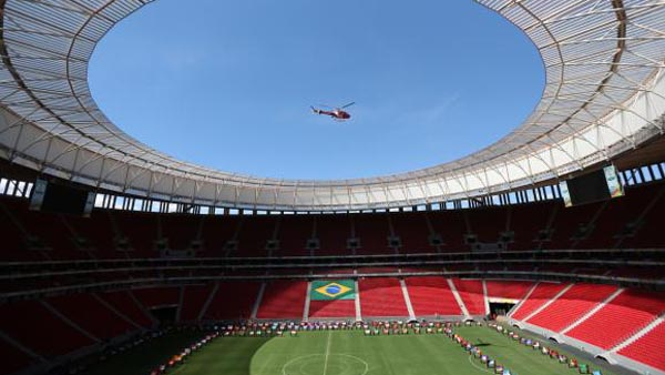 O Estádio Mané Garrincha / Foto: Fabio Rodrigues Pozzebom/Agência Brasil