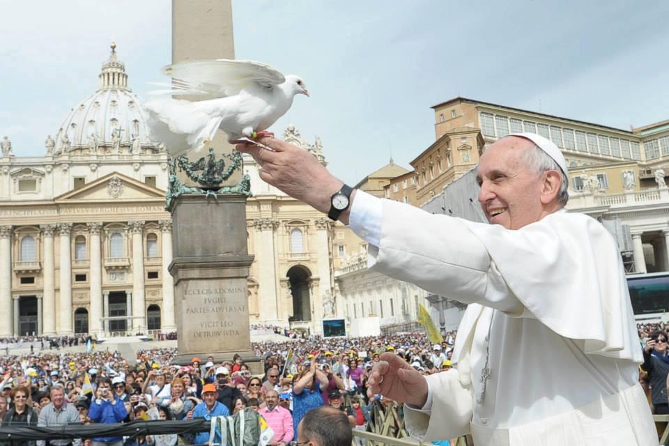 """""""A não-violência: estilo de uma política para a Paz"""" foi o tema escolhido por Francisco para o próximo Dia Mundial da Paz / Foto: L'Osservatore Romano"""