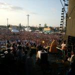 Benção do Santíssimo aos presentes e à cidade de Belém / Foto: Leonardo Monteiro