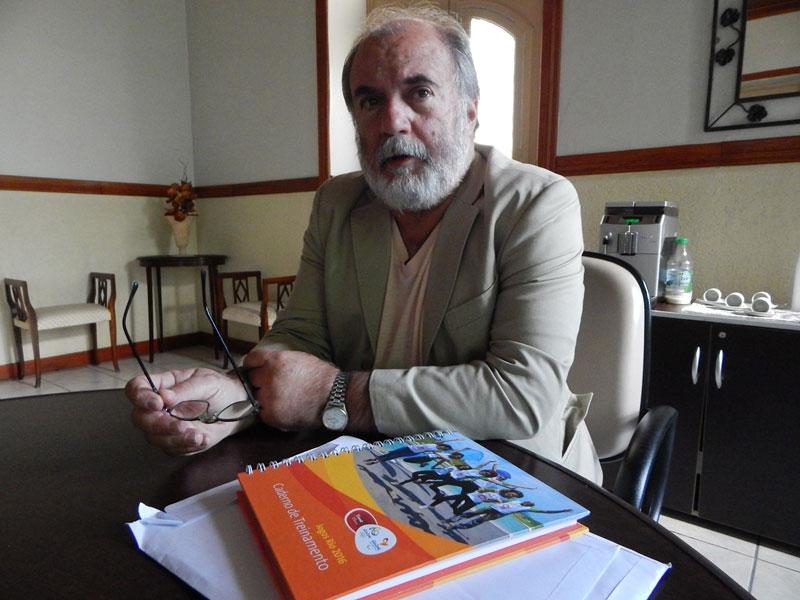 Professor Paulo Vasques foi voluntário nos Jogos Rio 2016 / Foto: Unisal