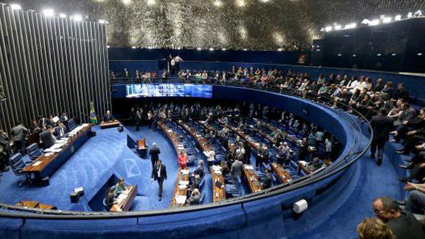Sessão que analisa parecer do senador Antonio Anastasia será coordenada pelo presidente do STF, Ricardo Lewandowski./ Foto? Agência Brasil