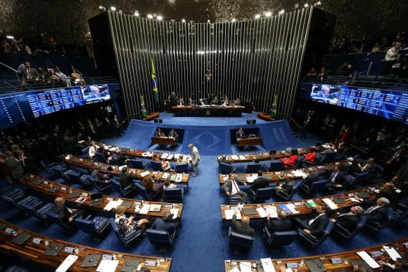 Senado está prestes a decidir se afasta definitivamente ou não Dilma Rousseff da presidência / Foto: Fabio Rodrigues Pozzebom/Agência Brasil