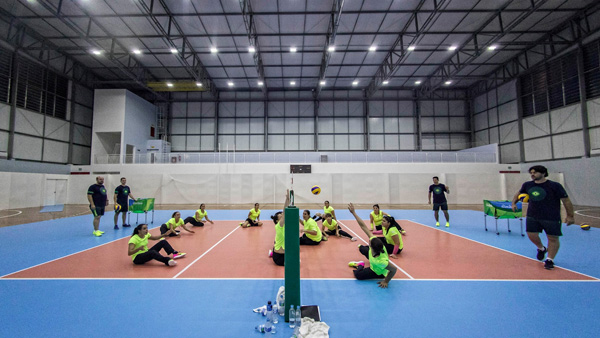 Seleção brasileira feminina de vôlei sentado / Foto: Facebook pessoal