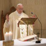 Papa enfatiza disposição para fazer vontade de Deus