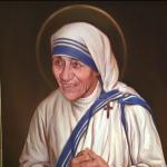 Retrato de Madre Teresa de Calcutá ocupa espaço na Praça São Pedro