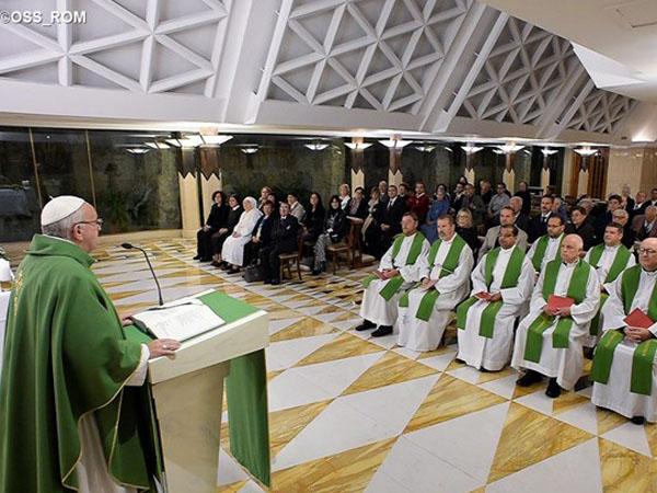 Homilia do Papa Francisco na Casa Santa Marta / Foto: L'Osservatore Romano