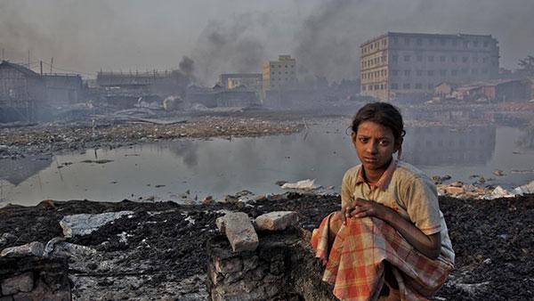 300 milhões de crianças respiram ar tóxico / Foto: Unicef