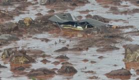 Segundo os procuradores, a Samarco tinha consciência dos riscos de um rompimento mas a ganância na busca por lucro levou à tragédia / Foto: Arquivo Agência Brasil