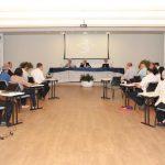 Consep reunido na sede da CNBB, em Brasília / Foto: CNBB
