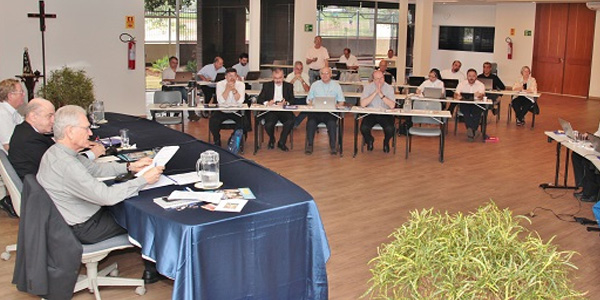 Bispos durante reunião do Consep / Foto: CNBB