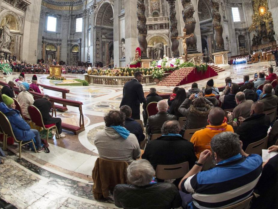 Data foi inspirada, particularmente, no 'Jubileu das Pessoas Excluídas Socialmente', celebrado no Vaticano no dia 13 de novembro / Foto: Agência Ecclesia