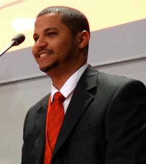 Leon Patrick, Assessor Nacional da Cáritas Brasileira / Foto: Cáritas Brasileira