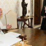 Papa reunido com o primeiro-ministro da Irlanda / Foto: L'Osservatore Romano